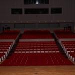 舞台から見た客席