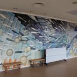 壁画レリーフ